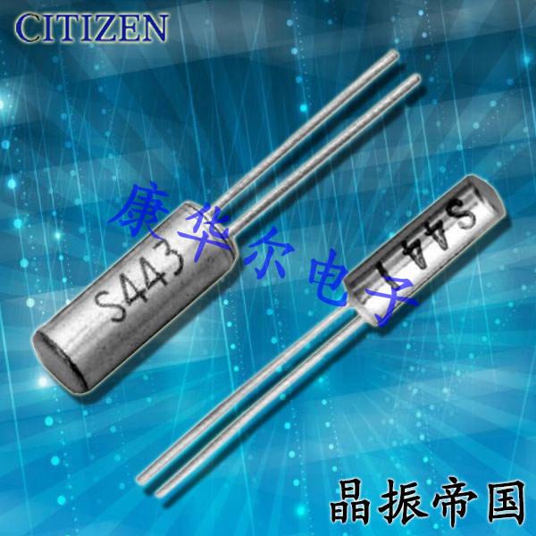西铁城晶振,石英晶振,CFS-206晶振,CFS-20632768EZYB晶振
