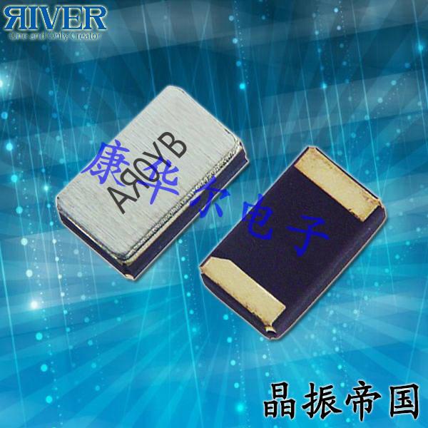 大河晶振,贴片晶振,TFX-03C晶振,音叉型金属面贴片晶振