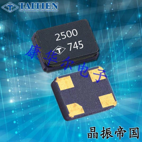 泰艺晶振,贴片晶振,X2晶振,X2AEECNANF-24.000000晶振