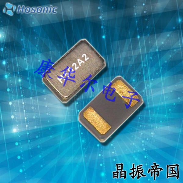 鸿星晶振,贴片晶振,ETDG晶振,金属面两脚SMD晶振