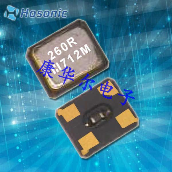 鸿星晶振,热敏晶振,T2SB晶振,2520石英贴片热敏晶振