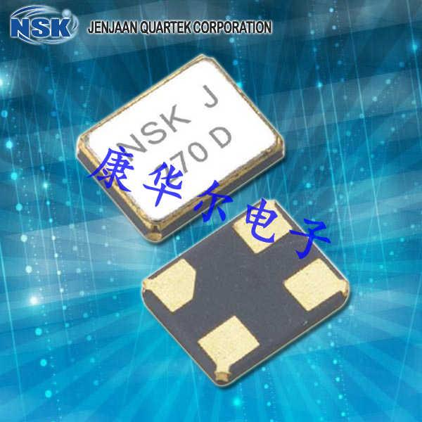 NSK晶振,贴片晶振,NXN-21晶振,无源四脚晶振