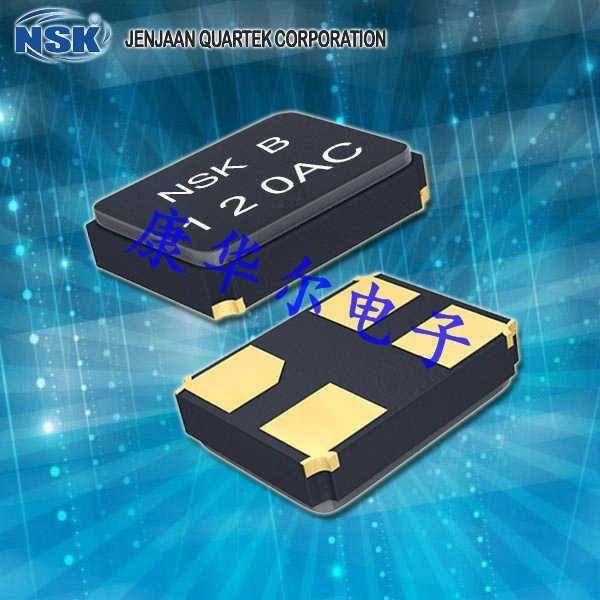NSK晶振,贴片晶振,NXK-32-AP4-GLASS晶振,台产陶瓷面贴片型晶振
