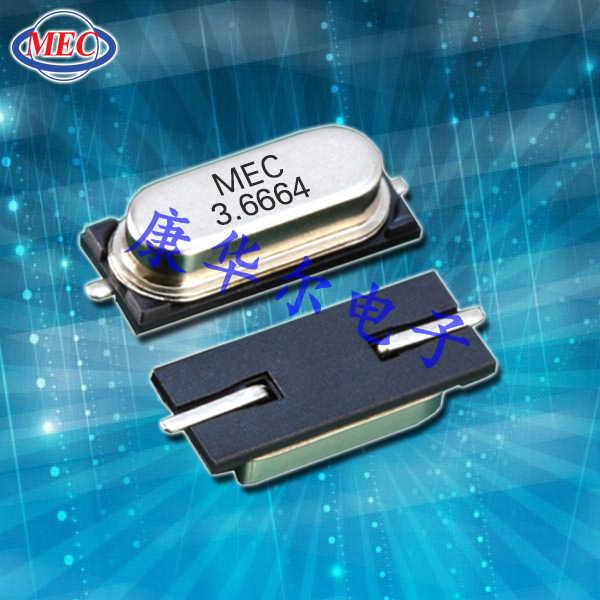 MERCURY晶振,贴片晶振,ML49晶振,两脚贴片晶振