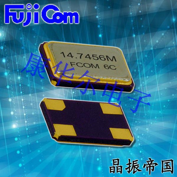 富士晶振,贴片晶振,FSX-4M晶振,石英贴片四脚晶振