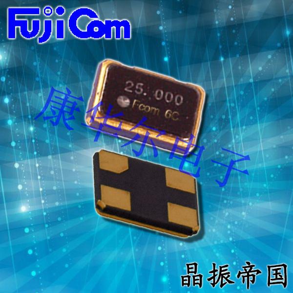 富士晶振,贴片晶振,FSX-5M晶振,金属封装晶振