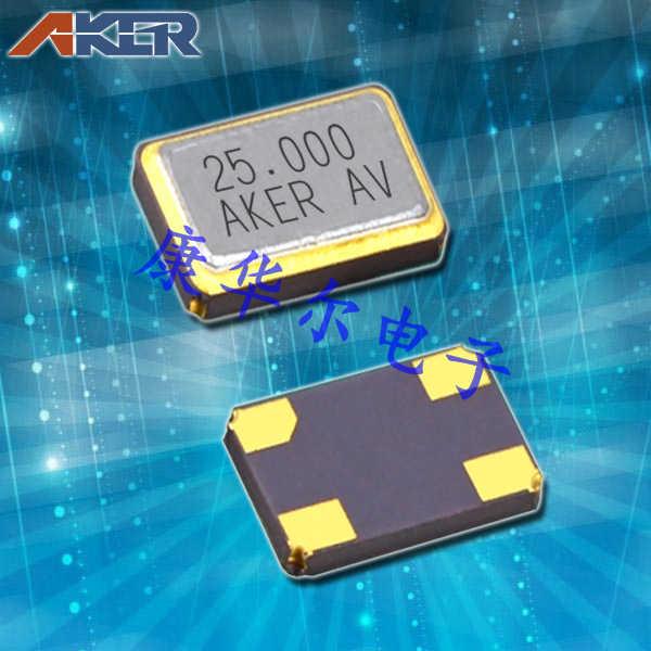 AKER晶振,贴片晶振,CXAF-631晶振,6035mm四脚无源贴片晶振
