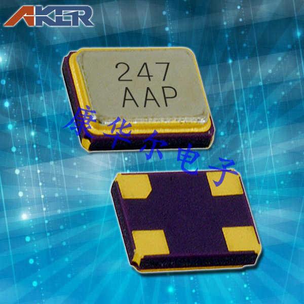 AKER晶振,贴片晶振,CXAF-211晶振,GPS石英晶体谐振器