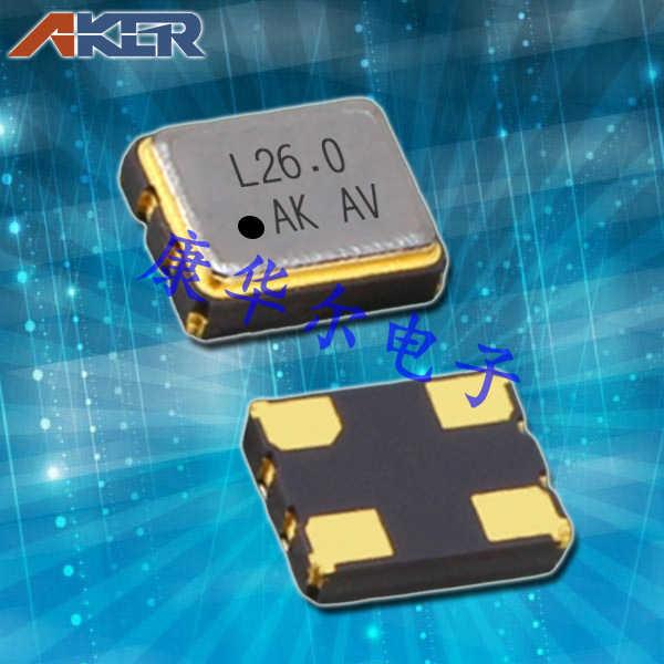 AKER晶振,有源晶振,SMAN-321晶振,轻薄型有源晶振