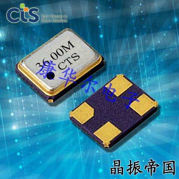 CTS晶振,贴片晶振,416晶振,416F48022CKR晶振