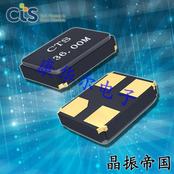 CTS晶振,贴片晶振,GA324晶振,压电石英晶体