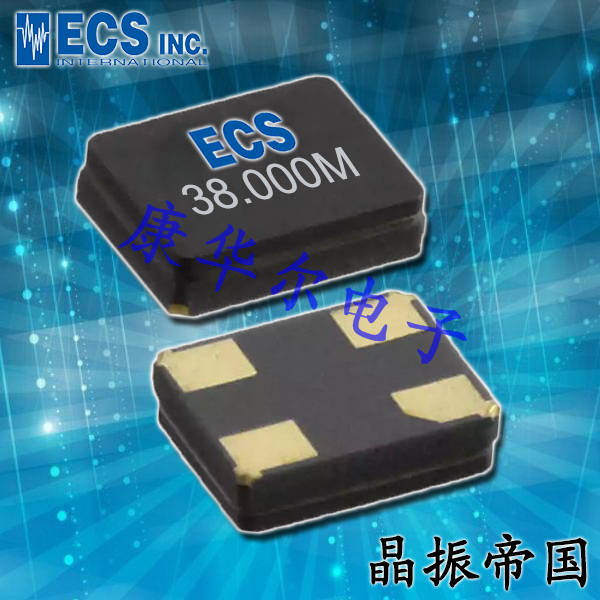 ECS晶振,贴片晶振,ECX-1637晶振,ECS-160-10-37-RWM-TR晶振