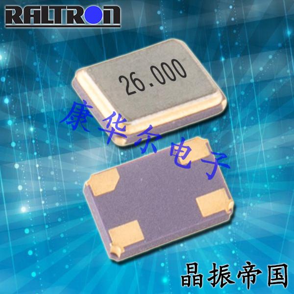 Raltron晶振,贴片晶振,RH100晶振,高精度晶振