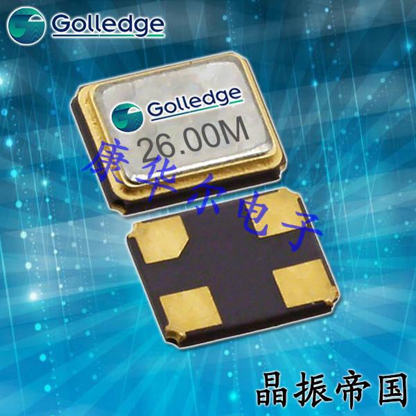 Golledge晶振,贴片晶振,GRX-530晶振,5032进口石英晶振