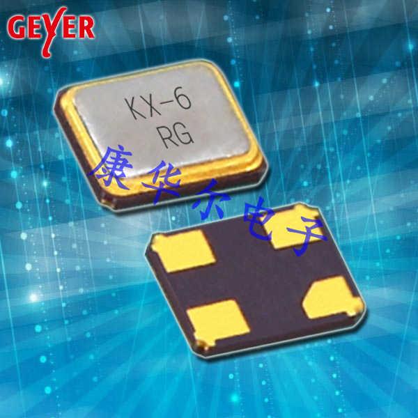 Geyer晶振,贴片晶振,KX-6晶振,进口石英晶振